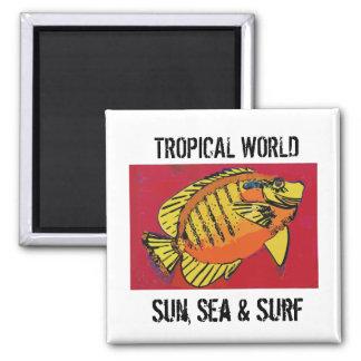 Tropical Surf Club Magnet