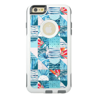 Tropical Teal Geometric Abstract Pattern OtterBox iPhone 6/6s Plus Case
