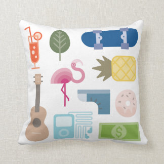 Tropical Theme Pillow