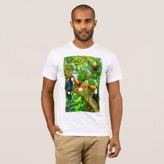 Tropical Toco Toucan Birds T-Shirt