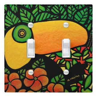 Tropical Toucan Bird Light Switch Cover
