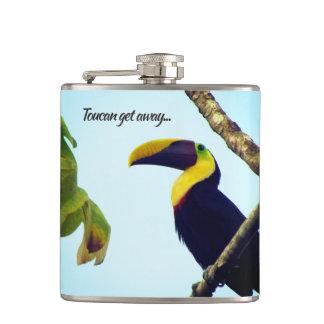 Tropical Toucan Get Away Flask
