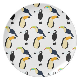Tropical Toucans Plate