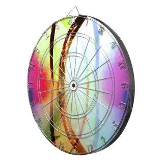 Tropical Tourmaline Dartboard