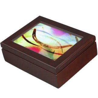 Tropical Tourmaline Memory Box