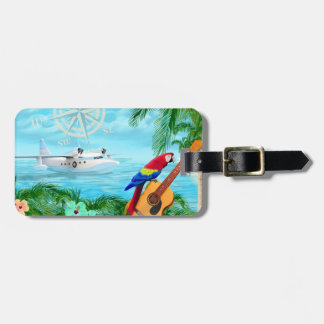 Tropical Travels Luggage Tag