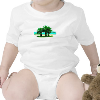 Tropical Tree Trio Tee Shirt