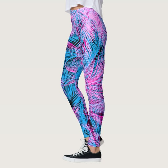 TROPICAL TREES LEGGINGS