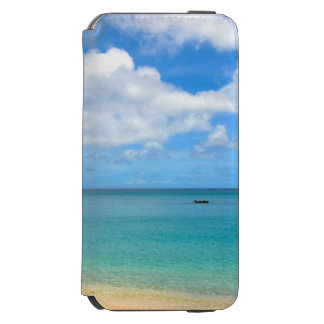 Tropical Turquoise Water with a Sailing Yacht Incipio Watson™ iPhone 6 Wallet Case