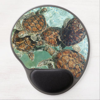 Tropical Turtles (Kimberly Turnbull Photography) Gel Mouse Pad