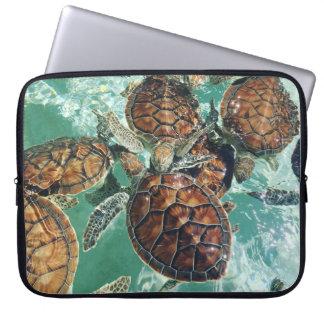 Tropical Turtles - Kimberly Turnbull Photography Laptop Sleeve