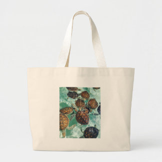 Tropical Turtles (Kimberly Turnbull Photography) Large Tote Bag
