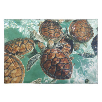 Tropical Turtles (Kimberly Turnbull Photography) Placemat