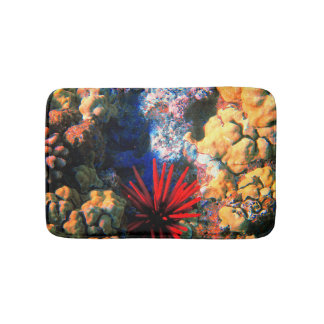 Tropical Undersea Coral Bath Mat