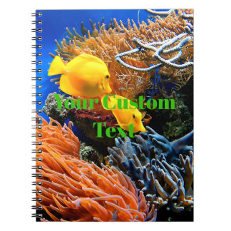 Tropical Undersea Coral Notebooks