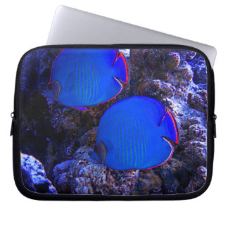 Tropical Undersea Fish Swimming In Coral Laptop Sleeve