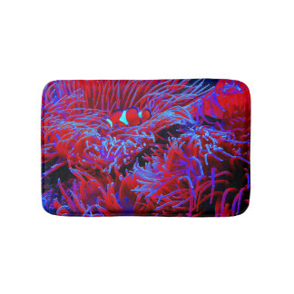 Tropical Undersea Life Bath Mat