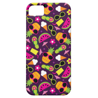 Tropical Vacation Seamless Pattern iPhone 5 Case