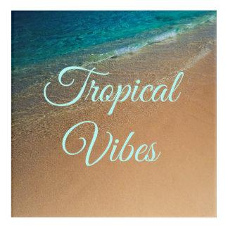 Tropical Vibes Acrylic Print