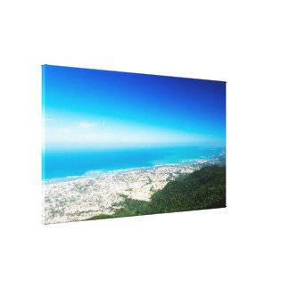 Tropical View | Atlantic Ocean | Puerto Plata Canvas Print