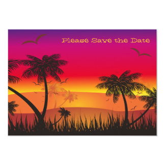 Tropical View Save the Date Announcement