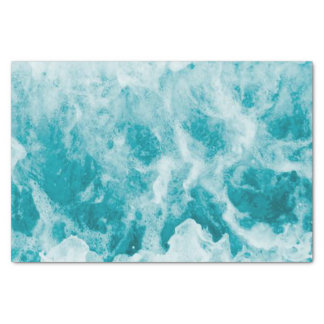 Tropical Water Blue Ocean Beach Sea Aqua tissue Tissue Paper