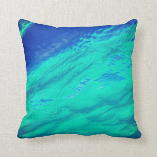 Tropical Water Throw Pillow