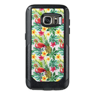 Tropical Watercolor OtterBox Samsung Galaxy S7 Case