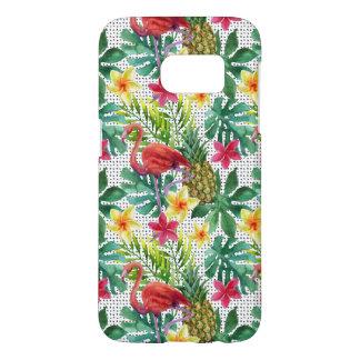 Tropical Watercolor Samsung Galaxy S7 Case