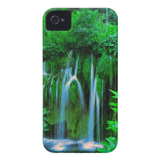 Tropical Waterfall In The Rainforest iPhone 4 Case
