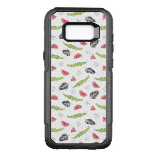 Tropical Watermelon & Crocodile Pattern OtterBox Commuter Samsung Galaxy S8+ Case