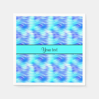 Tropical Waves Paper Napkin