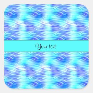 Tropical Waves Square Sticker