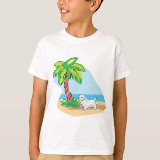 tropical westie T-Shirt