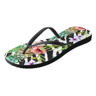Tropical Wilderness Flip Flops