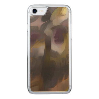 Tropical Wind Pastel Abstract Carved iPhone 8/7 Case