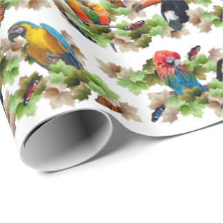 Tropical Wrapping Paper