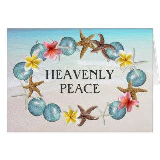 Tropical Wreath Religious Christmas Cards
