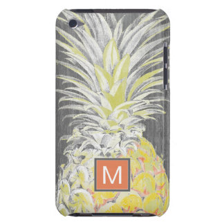 Tropical Yellow Pinneapple iPod Touch Case