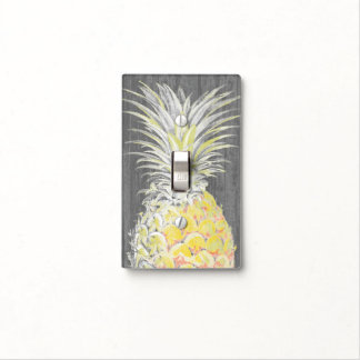 Tropical Yellow Pinneapple Light Switch Cover