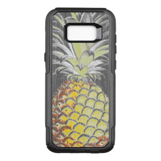 Tropical Yellow Pinneapple on Grey OtterBox Commuter Samsung Galaxy S8+ Case