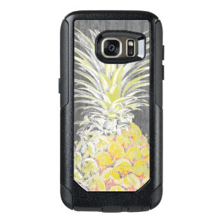 Tropical Yellow Pinneapple OtterBox Samsung Galaxy S7 Case