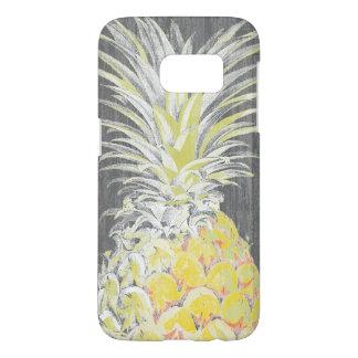 Tropical Yellow Pinneapple Samsung Galaxy S7 Case