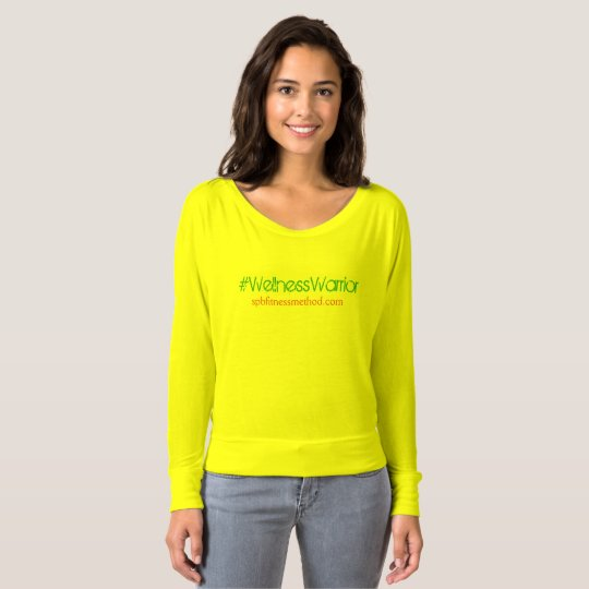 Tropicana #WellnessWarrior Slouchy Top