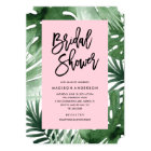 Tropics Bridal Shower Invitation