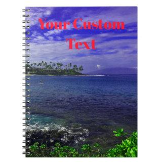 Tropics Of Hawaii Spiral Notebook