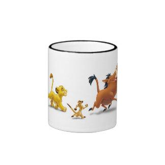 Trot de chant de pumbaa de timon de petit animal mug ringer