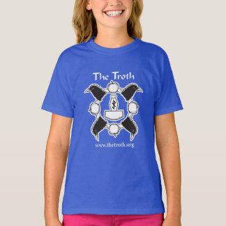 Troth B&W Girl's Tee (Dark)