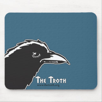 Troth Raven Mouse Pad