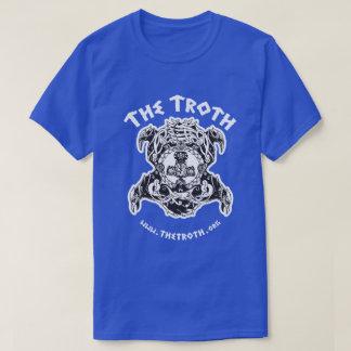 Troth Stylized B&W Dark Tee